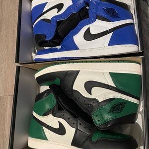 Jordan 1s and 4's